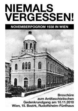 Broschüre 2010